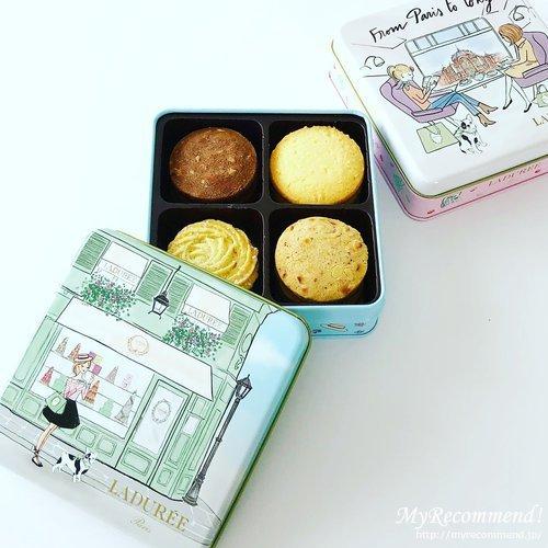 ラデュレの渋谷限定クッキー缶
