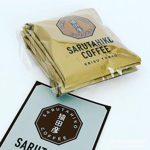 猿田彦珈琲のコーヒーバッグ