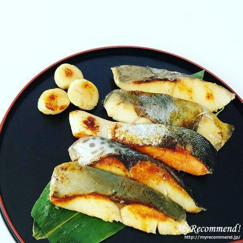 鈴波,魚介味淋粕漬詰合せ