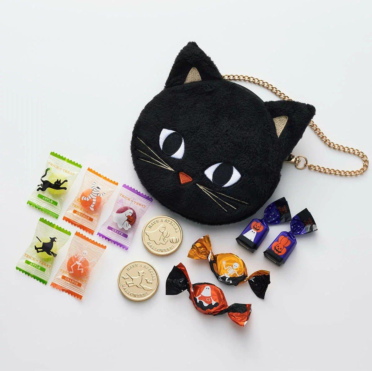 モロゾフの黒猫ポシェット