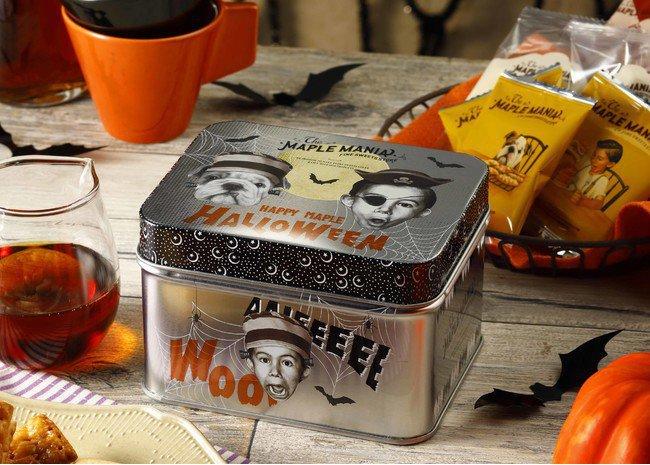 ザ・メープルマニアのメープルハロウィン缶