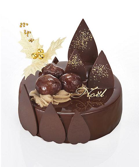 ファウンドリー,国産栗と有機カカオのチョコレートムース
