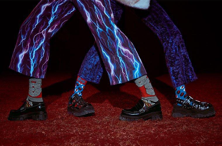 ハッピーソックスのハロウィン靴下