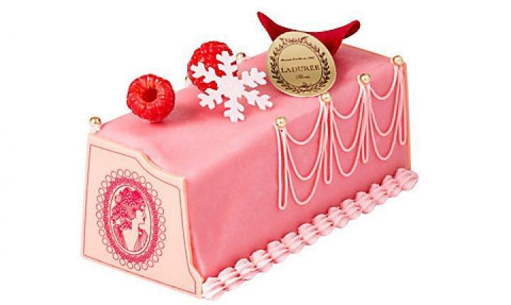 ラデュレのクリスマスケーキ【2021】女心を惹きつける