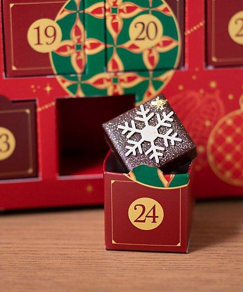 ル ショコラ ドゥ アッシュのアドベントカレンダー