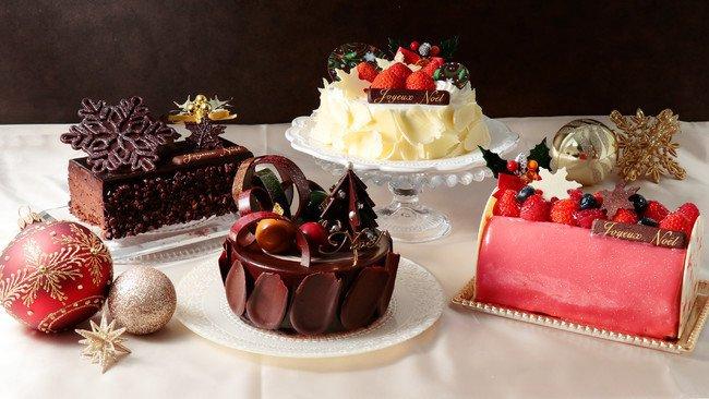 ベルアメールのクリスマスケーキ