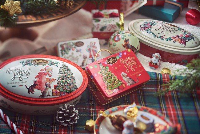 カファレルのクリスマス缶