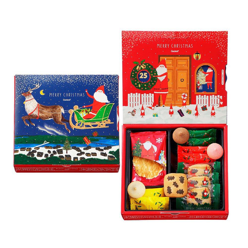 ゴンチャロフ,クリスマスアソートチョコレート&クリスマスクッキーカレンダー