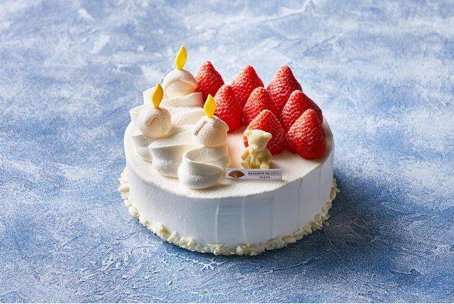 マンダリン オリエンタル 東京の苺のショートケーキ