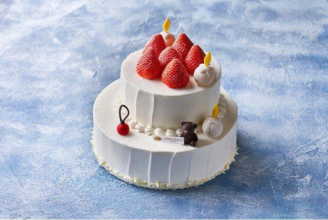 マンダリン オリエンタル 東京の千疋屋クイーンストロベリー プレミアムショートケーキ