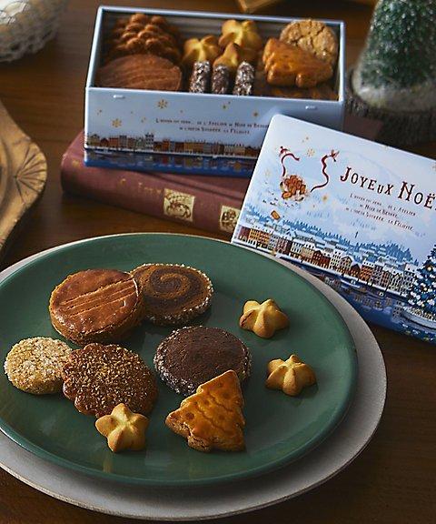 ノワ・ドゥ・ブールのクリスマスクッキー