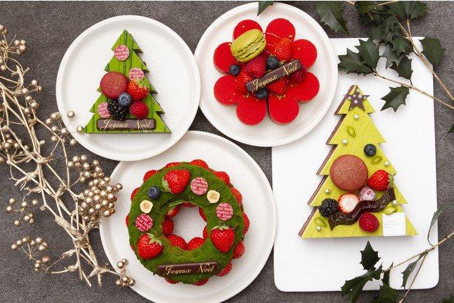 パティスリー・サダハル・アオキ・パリのクリスマスケーキ